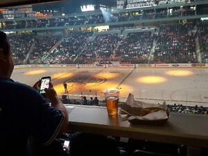 Oilers Tickets, CLUB DRINK RAIL SEATS, All Games