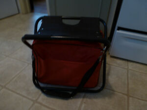 Combo chair and cooler pack - camping gear
