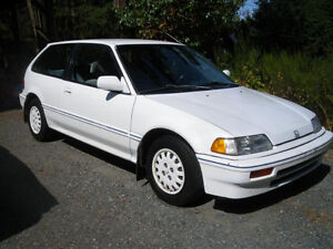 Wanted 1988 Honda Civic Special Edition Hatchback