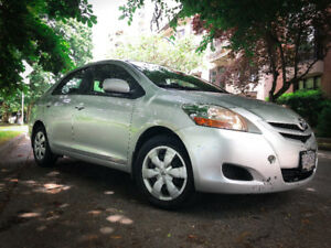 2008 Toyota Yaris Sedan - One Female Owner - $4,800