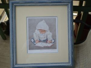 """John Newby - """" Bookworm """" -Artists Proof  Limited Edition Print"""