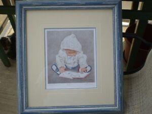 "John Newby - "" Bookworm "" -Artists Proof  Limited Edition Print Kitchener / Waterloo Kitchener Area image 1"
