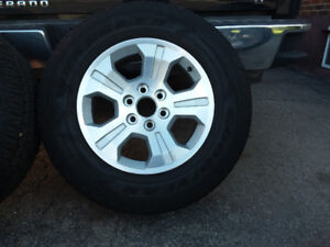 Chev tires and rims