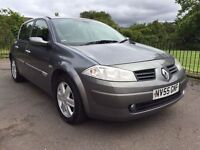 2005 RENAULT MEGANE DYNAMIQUE 5 DOOR HATCHBACK 1 YEARS MOT