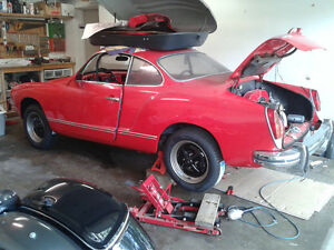 1973 Karmann Ghia - SOLD!