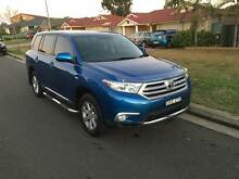 2012 Toyota Kluger 7Seater AWD 3keys Logbooks Rooty Hill Blacktown Area Preview