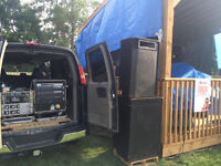 Sound Tech For Hire With Audio System & Lights