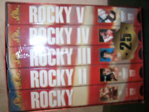 rocky collection on vhs