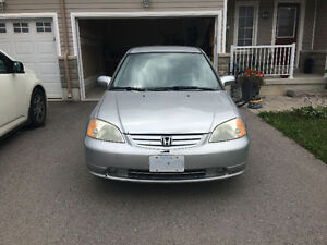 2002 HONDA CIVIC - 1200$ WITH SNOWTIRES *AS IS*
