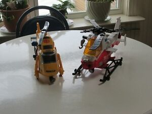 2 RESCUE HELICOPTERS