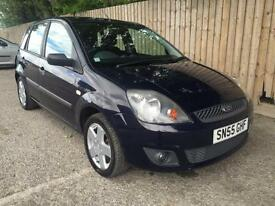 2006 55 Ford Fiesta 1.4TDCi Zetec 5 door 74.3 mpg May p/x