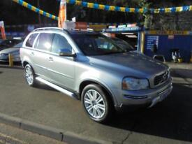 2010 60 VOLVO XC90 2.4 D5 EXECUTIVE GEARTRONIC AWD IN SILVER # 76000 MLS FSH #