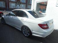 Mercedes C220 CDI BLUEEFFICIENCY SPORT (calcite white) 2012