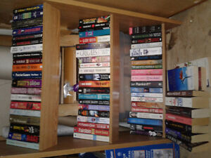 Small Bookcase full of Books 60+ Top Authors
