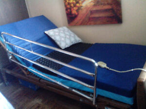 Twin size InvacCare electric medical bed