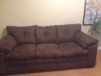 New Sofa and Love Seat