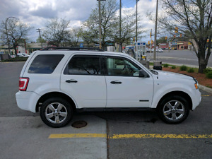 2008 Ford Escape V6, safety and e-test