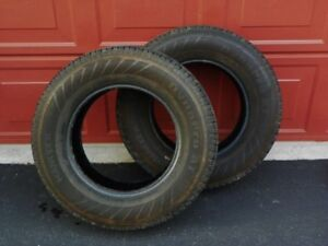 Two Hankook P235/75R 17 Truck/SUV Tires