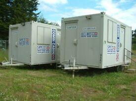 Garic Combi Site Cabin Welfare Unit, 4 man Canteen, Onsite Toilet, Generator