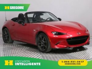2016 Mazda MX-5 GS A/C CONVERTIBLE MAGS BLUETOOTH