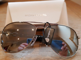 b9d96695daf82a Michael Kors Chain Link Aviator Sunglasses/ Silver Mirror for sale  Bournemouth, Dorset
