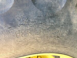 13.6 - 28 and 18.4 - 38 tractor tires Strathcona County Edmonton Area image 1