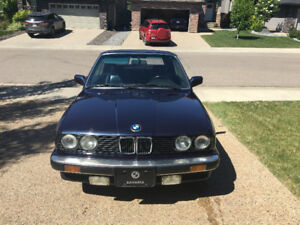 Bmw E30 325i convertible 5 speed