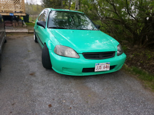 1996 Honda civic hatch back