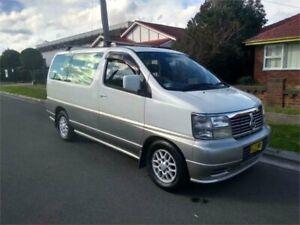 1999 Nissan Elgrand AVWE50 V White Automatic Wagon Lidcombe Auburn Area Preview