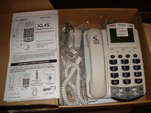 Clarity XL45 Amplified phone with CID and DCP