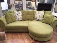 DFS 4 Seater Pillow Back Lounger Sofa