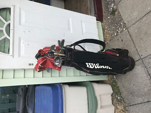 Sac de golf Wilson complet pour gaucher