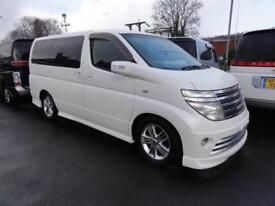 2004 Nissan Elgrand RIDER S FRESH IMPORT 3.5 5dr