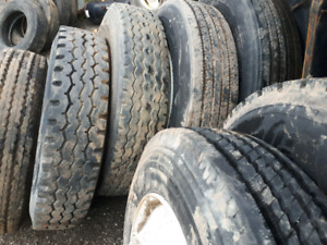 Used - new commercial truck bobcat tire and rim