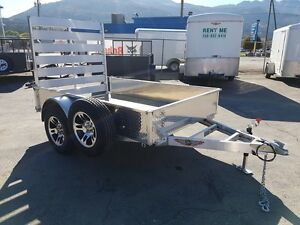 2017 H  H  5' x 8' Solid Side Aluminum utility