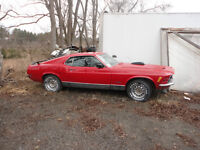 1970 FORD MUSTANG MACH 1 ASKING $14K AS IS