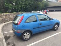 Corsa - low millage, lots of service history,