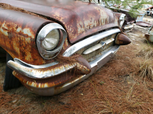Looking for a front bumper and front chrome for a 1955 Buick