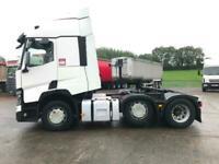 2014 RENAULT T CAB 6X2 RENAULT PREMIUM 460 Renault 6x2 tractor unit Manual