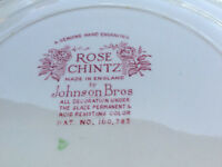 60 + pieces old Rose Chintz china