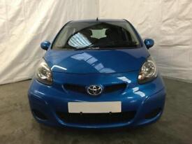 Toyota Aygo 1.0 VVT-i AYGO Blue Hatchback 5d 998cc