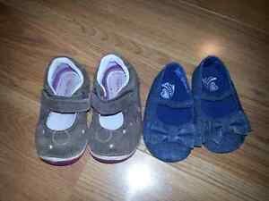 Size 4 Baby Girl Shoes Excellent Condition