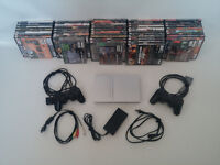 48 PS2 GAMES + Sony SCPH-79001 PlayStation 2 Slim Game Console C