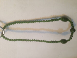 Genuine nephrite Taiwan Jade necklace