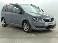 2009 Volkswagen Touran MATCH TDI BLUEMOTION Diesel grey Manual