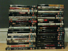 41 horror dvd's for sale