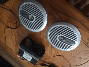 Marine Stereo and Speakers