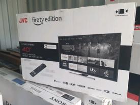 TV brand new 40inch Alexa with WARRANTY jvc