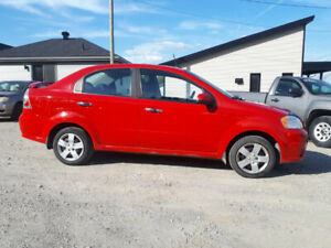 CHEVROLET AVEO LT 2010 AUTOMATIQUE 125000KM 2995$