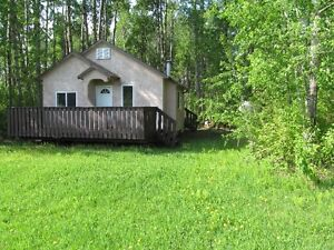 Cabin and two 1/2 acre lots by slave lake Strathcona County Edmonton Area image 1